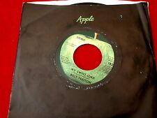 BILLY PRESTON~ MY SWEET LORD~ NEAR MINT~ LITTLE GIRL~ APPLE 1826~ POP 45