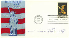 TRICIA NIXON - FIRST DAY COVER SIGNED