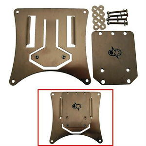 ONE Set License Plate Holder Quick Release Tab Universal Motorcycle Sherco