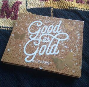 ColourPop Good As Gold Eyeshadow Palette *100% GENUINE* Brand New Soft Glam