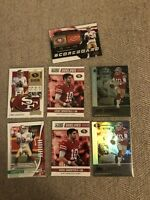 Jimmy Garoppolo Football Card Lot Illusions / Absolute Green