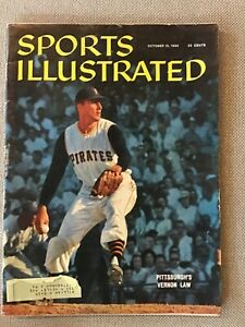 Sports illustrated 1960 Vernon Law Ex