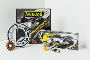 KIT TRASMISSIONE CATENA KTM 1290 SUPER ADVENTURE R S T '15-'16 525 TROFEO SILENT