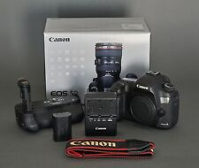 Canon EOS 5D Mark III 22.3MP Digital SLR Camera Body Plus Grip