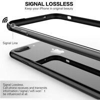 For Apple iPhone 8 Plus Aluminum Metal Bumper Case RUG Rubber Armor Case Cover
