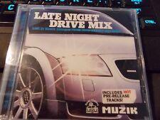 Late Night Drive Mix by Red Jerry, CD (2002 Muzik Magazine UK Import) Brand New