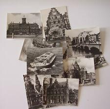 Fotogalerie, Mäppchen aus Amsterdam 10 sw  Foto-Postkartchen, 7x9cm 1960er Jahre