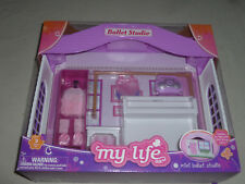 NEW IN BOX MY LIFE AS MINI BALLET STUDIO PLAYSET CLOSES TO BECOME CARRYING CASE