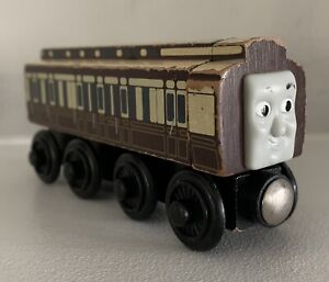 Thomas The Tank Engine&Friends Wooden Railway Old Slow Coach Passenger Train Car