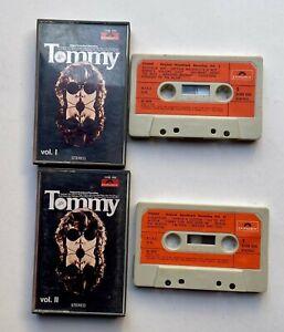 TOMMY THE WHO ORIGINAL SOUNDTRACK VOL I E II  CASSETTE