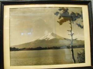 Vintage Mount Fuji Photograph