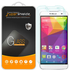 2x Supershieldz Tempered Glass Screen Protector For Blu Dash X Plus