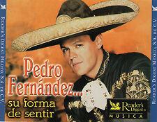 PEDRO FERNANDEZ  su forma de sentir   Reader's Digest  México 4 CD's 2001 !