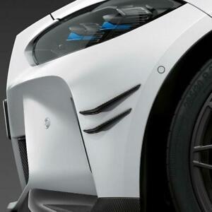 BMW M3/M4 (G80/G82) M Performance Style Carbon Fibre Front Canards