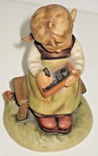 Goebel Busy Student Figurine Dated 1963 W. Germany #367