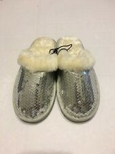 Girls Slipper Shoes Small 12 Silver
