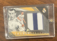 2018-19 PANINI TREBLE SOCCER GARETH BALE PATCH/15 THREADS HUGE AWESOME ~