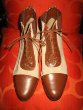 Lazamani Italian Designer As-New Leather/Fabric Boots Size 39