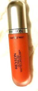 New Revlon Ultra HD Matte LipColor 620 No Flirtation Flirt 0.2 fl oz M15.2