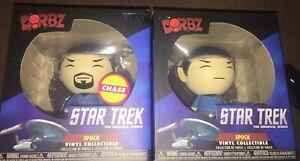2 Star Trek Spock Funko Dorbz 2 Including One Chase