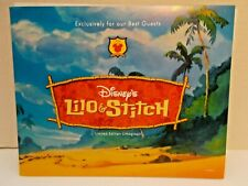 DISNEY LILO & STITCH LITHOGRAPH FOR OUR BEST GUESTS NEW c