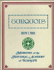 TURQUOIS: Memoirs of the National Academy of Sciences (turquoise) - J E. Pogue