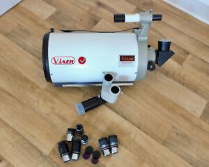 Astronomie Vixen Teleskop VMC200L 200/1950 Made in Japan + div. Zubehör Plössl