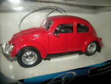 1:24 MAISTO vw beetle rouge/red OVP