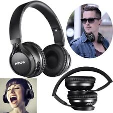 Mpow Wireless Bluetooth Headphones Stereo HiFi Sports Headsets w/ Mic Over ear