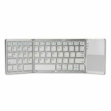 Portable Wireless Touchpad Bluetooth Keyboard Foldable For Computer & Phone US