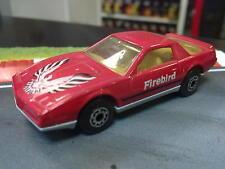 Matchbox Pontiac Firebird SE 1:62 rood
