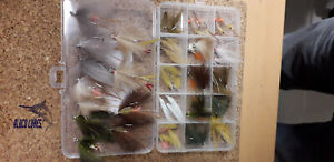 Box of 50 Flats Flies, #2, 4, 6 Bonefish/Permit
