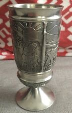Millingar Irish Pewter Goblet- 12 oz