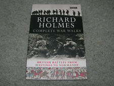 BBC WAR WALKS by Richard Holmes ~ British Battles from Hastings to Normandy