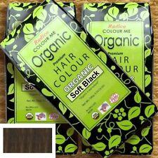Radico Colour Me Organic Soft Black Pflanzenhaarfarbe Weiches Schwarz 100 g Bio