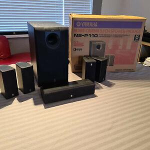 Yamaha NS-P110 Speaker System (Home cinema surround speakers)