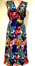 plus sz M 18 20 TS TAKING SHAPE Dayflower Maxi Dress stretch easy-wear NWTrp$130