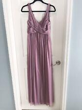5a4c92c9cae Davids Bridal Dusty Rose Pink Formal Wedding Bridesmaid Dress size 6
