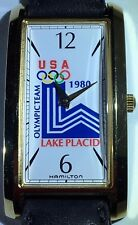 LIMITED EDITION~#95 of #250~Hamilton~1980~Olympic~Lake Placid~Watch~NWT~NOS