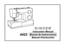 Singer 4423 Sewing Machine/Embroidery/Serger Owners Manual