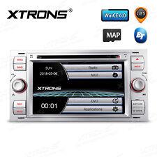 "Silber 7"" UI Autoradio GPS Navi DVD für Ford C/S-Max Galaxy Fiesta Fusion"