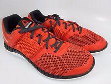 Reebok Zprint Run Boy's Men's Running Shoes Size US 7 Y EU 39 Black Red AQ9666