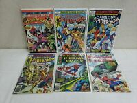 70's The Amazing Spider-Man Lot Bundle Of 6 Comic Books Adult Nice Pre-Owned!