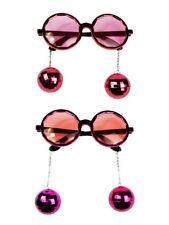 Brille Rund mit Discokugeln Party Accessoires