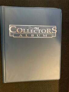 Ultra Pro Collectors Album 10 pages 9 Pockets for Sports Trading Cards