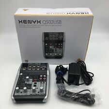 """Behringer Xenyx Q502Usb Mixer with Usb """"Read�"""