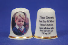 Prince George's First Day At School 7th Sept 2017 China Thimble /132