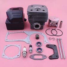 58mm Cylinder Piston Ported Muffler Kit For Husqvarna 395 395XP Gasket Oil Seal