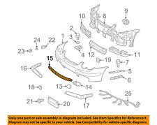 MERCEDES OEM 02-04 C230 Front Bumper-Grille Cover 2038850823