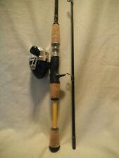 6' Eagle Claw Water Eagle Medium Spinning Rod & Reel WE200 Combo  2 Pc Fising